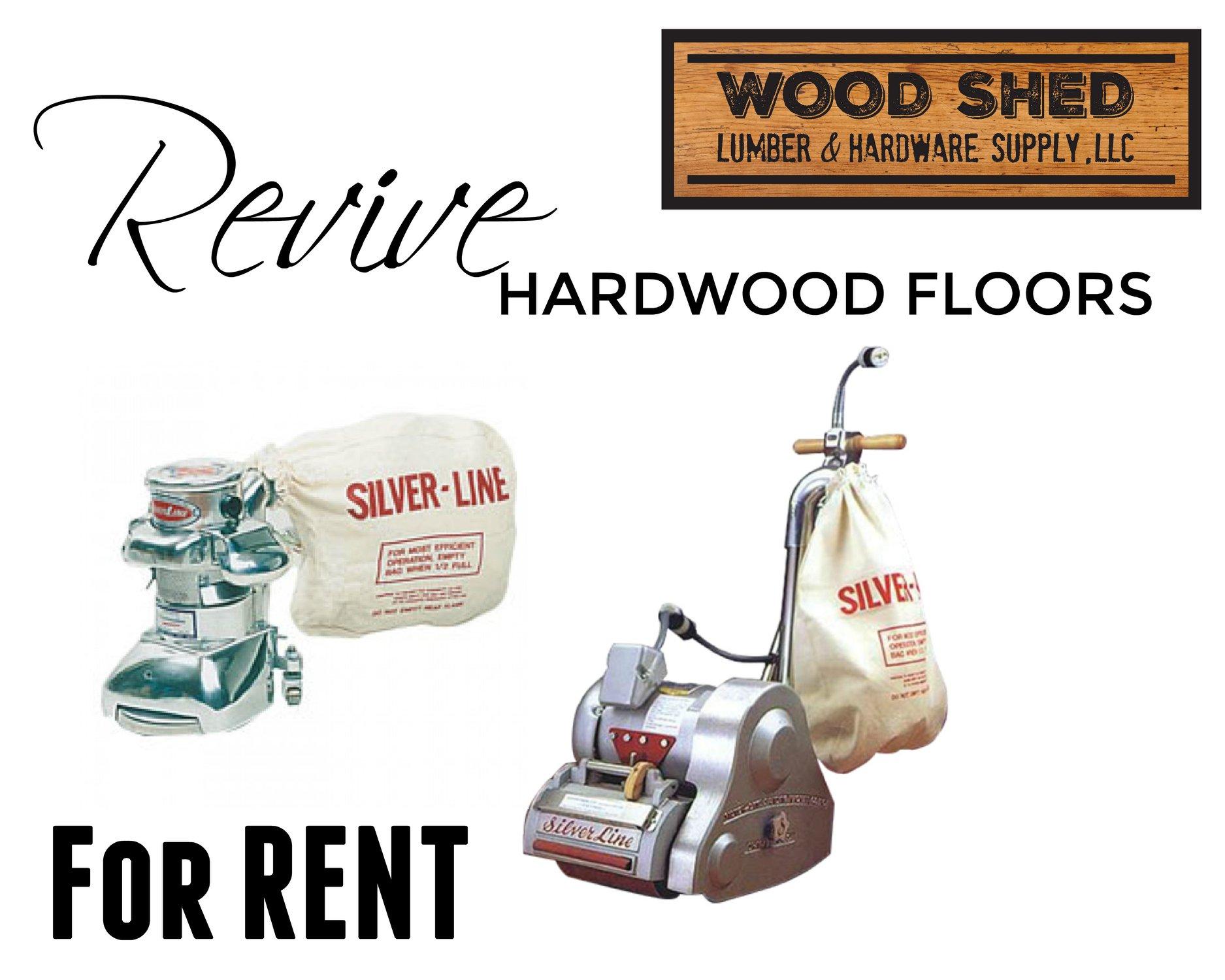 hardwood rental