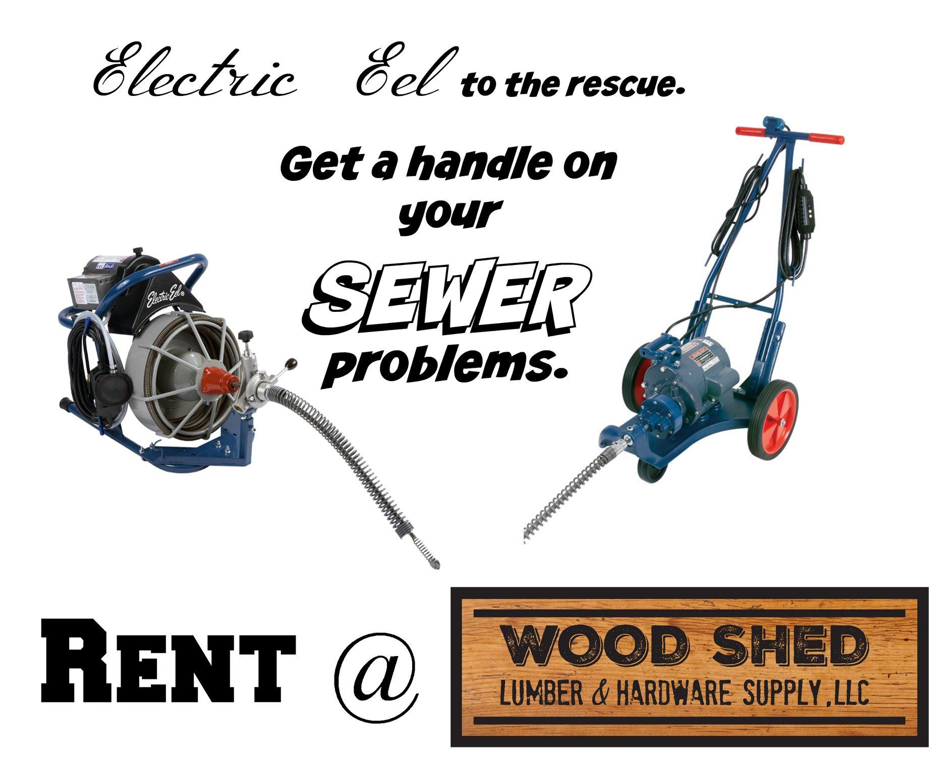 sewer equipment rental