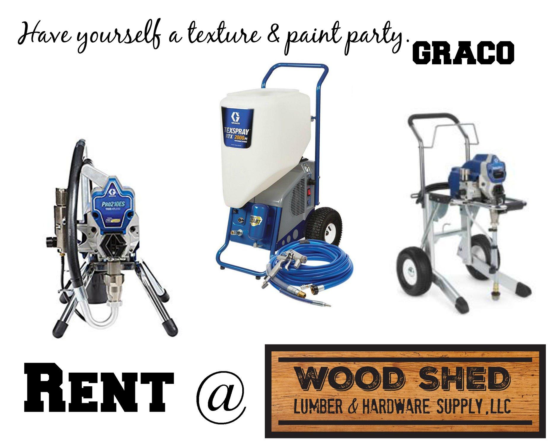 graco equipment rental