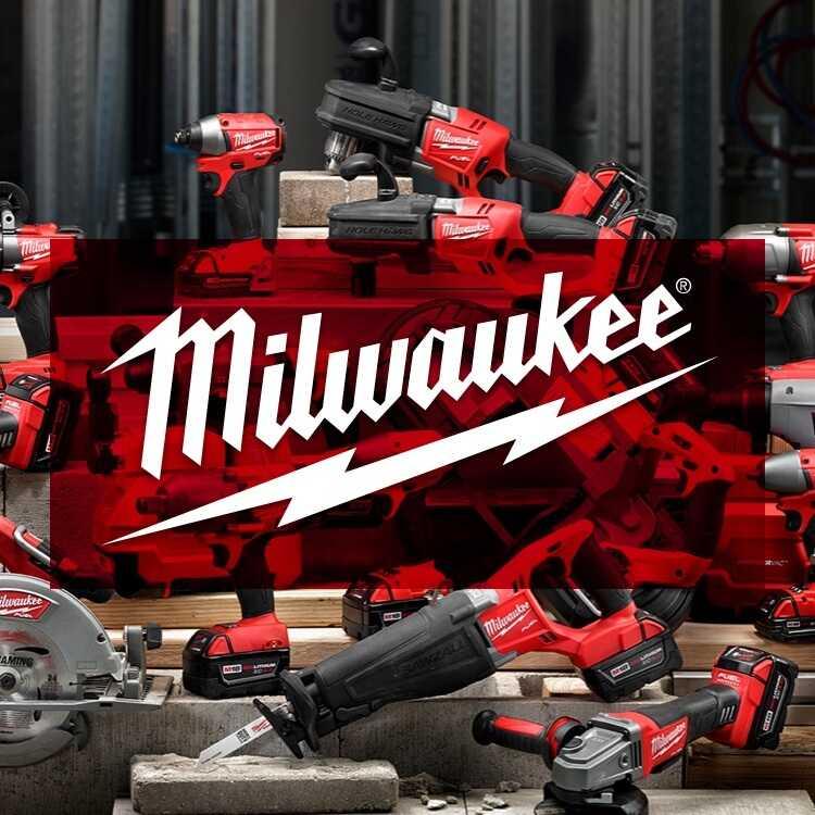 Milwaukee Power Tools with Logo
