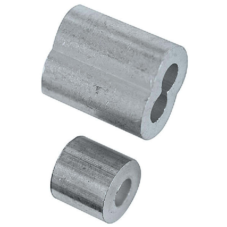 National 1/8 In. Aluminum Garage Door Ferrule & Stop Kit Image 2