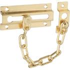 National Brass Steel Chain Door Lock Image 1