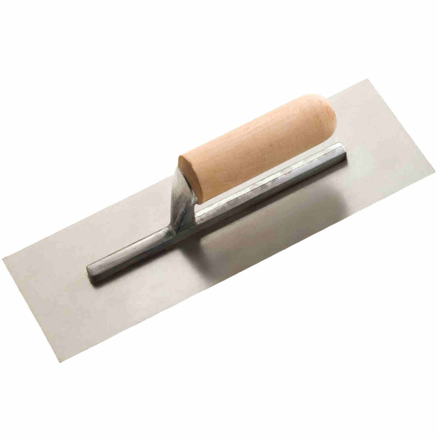 Do it 4-1/2 In. x 12 In. Finishing Trowel with Basswood Handle Image 1