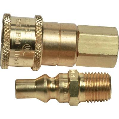 MR. HEATER 1/4 In. Brass Gas Connector