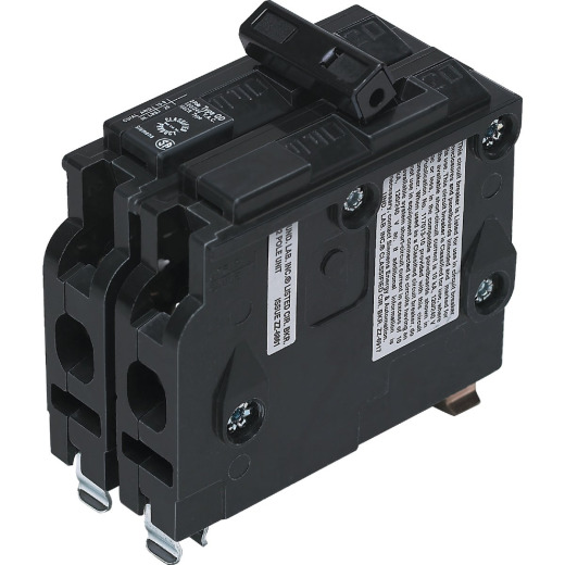 Connecticut Electric 50A Double-Pole Standard Trip Packaged Replacement Circuit Breaker For Square D