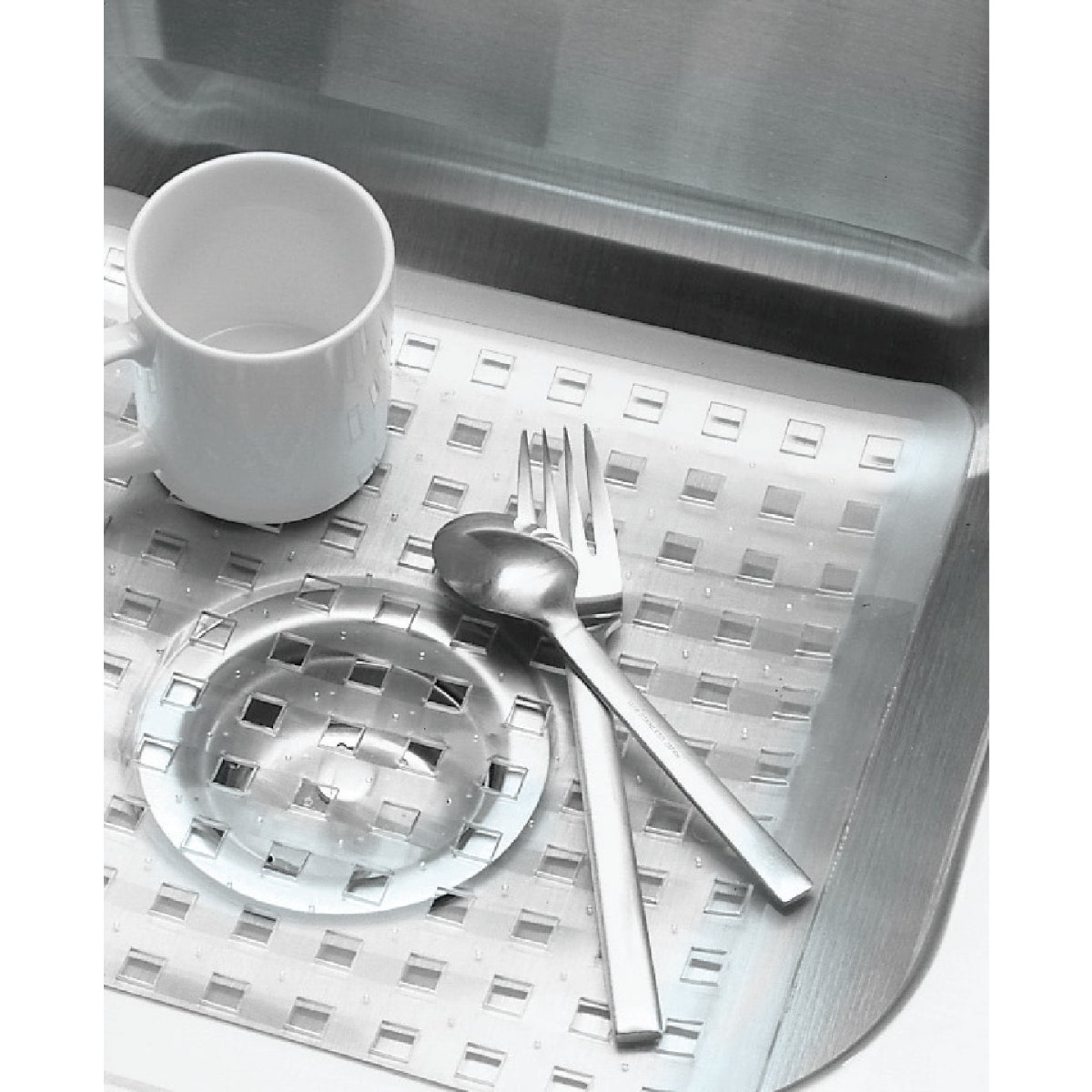 InterDesign Sinkworks 12.5 In. x 16 In. Euro Sink Mat Image 2